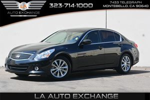 2013 INFINITI G37 Sedan Journey Carfax 1-Owner  Black Obsidian ---  24842 Per Month -ON A
