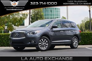 2013 INFINITI JX35  Carfax 1-Owner  Gray 2874 Per Month -ON APPROVED CREDIT--- ---  S