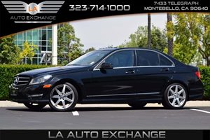2014 MERCEDES C250 Luxury Sedan Carfax 1-Owner - No AccidentsDamage Reported  Black  We are n