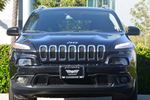 2015 Jeep Cherokee Latitude Carfax 1-Owner  Brilliant Black Crystal Pearlcoa  22244 Per Mont