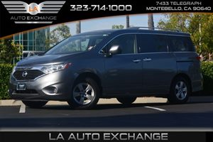 2016 Nissan Quest SV Carfax 1-Owner - No AccidentsDamage Reported  Gray  We are not responsib