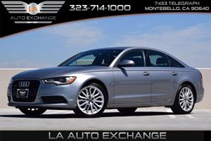 2014 Audi A6 20T Premium Plus Carfax 1-Owner 308 Axle Ratio Airbag Occupancy Sensor Convenien
