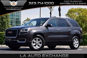 2014 GMC Acadia SLE Carfax 1-Owner - No AccidentsDamage Reported  Champagne Silver Metallic