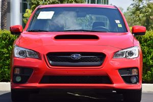 2017 Subaru WRX  Carfax 1-Owner - No AccidentsDamage Reported  Pure Red  We are not responsib