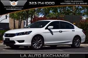 2015 Honda Accord Sedan Sport Carfax 1-Owner - No AccidentsDamage Reported  White Orchid Pearl