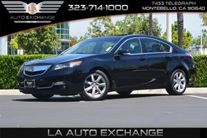 2013 Acura TL  Carfax 1-Owner  Crystal Black Pearl 21594 Per Month -ON APPROVED CREDIT---