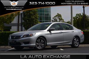 2014 Honda Accord Sedan LX Carfax 1-Owner  Alabaster Silver Metallic 20295 Per Month -ON APPR