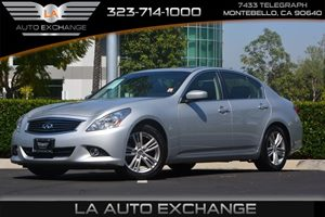 2013 INFINITI G37 Sedan Journey Carfax 1-Owner - No AccidentsDamage Reported  Silver 22894