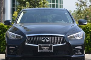 2014 INFINITI Q50 Sport Carfax 1-Owner - No AccidentsDamage Reported  Black Obsidian  ---