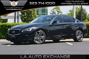 2014 INFINITI Q50 Sport Carfax 1-Owner - No AccidentsDamage Reported  Black Obsidian  We are