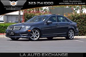 2013 MERCEDES C250 Luxury Sedan Carfax Report - No AccidentsDamage Reported  Gray  We are not
