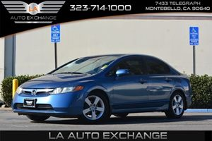 2008 Honda Civic Sdn LX Carfax Report - No AccidentsDamage Reported  Atomic Blue Metallic  We
