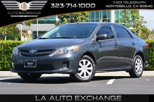 2013 Toyota Corolla LE Carfax 1-Owner  Black Sand Pearl 16314 Per Month -ON APPROVED CREDIT