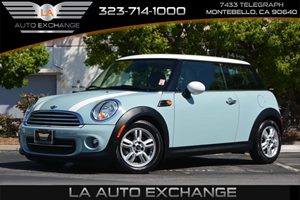2013 MINI Cooper Hardtop  Carfax 1-Owner - No AccidentsDamage Reported  Ice Blue ---  163
