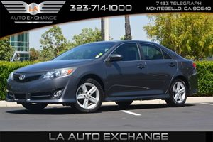 2012 Toyota Camry SE Carfax Report  Cosmic Gray Mica  We are not responsible for typographical