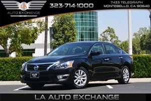 2014 Nissan Altima 25 S Carfax 1-Owner  Super Black 17047 Per Month -ON APPROVED CREDIT--
