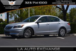 2012 Honda Accord Sdn LX Carfax 1-Owner  Alabaster Silver Metallic  We are not responsible for