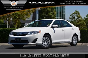 2014 Toyota Camry LE Carfax 1-Owner  Super White  We are not responsible for typographical err