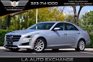 2014 Cadillac CTS Sedan RWD Carfax 1-Owner - No AccidentsDamage Reported  Radiant Silver Metal