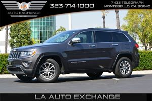 2014 Jeep Grand Cherokee Limited Carfax 1-Owner  Gray   307 Per Month -ON APPROVED CREDIT--