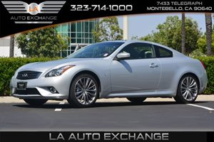 2014 INFINITI Q60 Coupe Journey Carfax 1-Owner - No AccidentsDamage Reported  Silver  We are