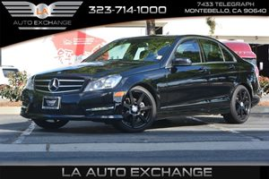 2014 MERCEDES C 250 Luxury Sedan Carfax 1-Owner - No AccidentsDamage Reported  Black  We are
