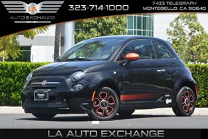 2014 FIAT 500e  Carfax 1-Owner - No AccidentsDamage Reported  Nero Puro Straight Black --