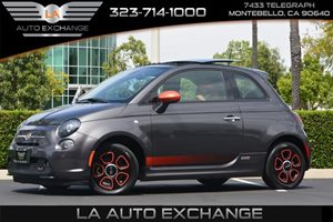 2014 FIAT 500e  Carfax 1-Owner - No AccidentsDamage Reported  Gray  We are not responsible fo
