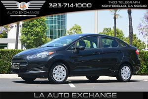 2015 Ford Fiesta S Carfax 1-Owner - No AccidentsDamage Reported  Tuxedo Black  We are not res