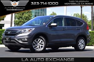 2016 Honda CR-V EX-L Carfax 1-Owner  Gray  We are not responsible for typographical errors Al
