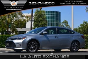 2016 Toyota Avalon XLE Carfax 1-Owner - No AccidentsDamage Reported  Celestial Silver Metallic