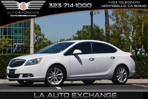 2014 Buick Verano  Carfax 1-Owner - No AccidentsDamage Reported  Summit White 15748 Per Mon
