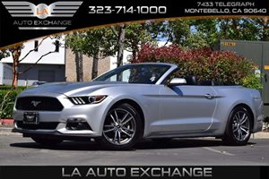 2017 Ford Mustang EcoBoost Premium Carfax 1-Owner  Ingot Silver Metallic  We are not responsib
