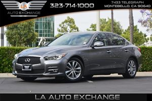 2014 INFINITI Q50  Carfax 1-Owner - No AccidentsDamage Reported  Gray  We are not responsible