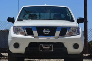 2016 Nissan Frontier SV Carfax 1-Owner  Glacier White   26142 Per Month -ON APPROVED CREDIT