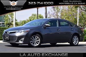 2015 Toyota Avalon XLE Carfax 1-Owner  Cosmic Gray Mica  We are not responsible for typographi