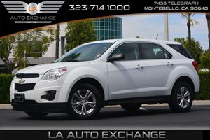 2014 Chevrolet Equinox LS Carfax 1-Owner  Summit White ---  16398 Per Month -ON APPROVED