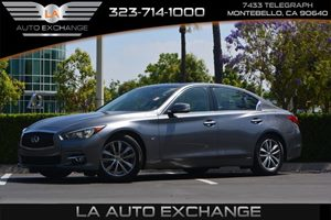 2014 INFINITI Q50 Premium Carfax 1-Owner - No AccidentsDamage Reported  Gray  We are not resp