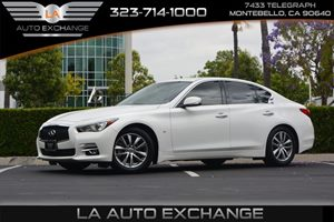 2014 INFINITI Q50 Premium Carfax 1-Owner - No AccidentsDamage Reported  Moonlight White  We a