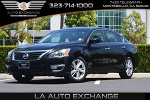 2014 Nissan Altima 25 SV Carfax 1-Owner - No AccidentsDamage Reported  Super Black  We are n
