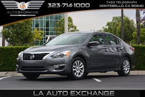 2015 Nissan Altima 25 S Carfax 1-Owner - No AccidentsDamage Reported  Gray  We are not respo