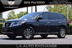 2014 Nissan Pathfinder S Carfax 1-Owner  Super Black  We are not responsible for typographical
