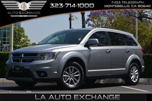 2016 Dodge Journey SXT Carfax 1-Owner - No AccidentsDamage Reported  Billet Silver Metallic Cl