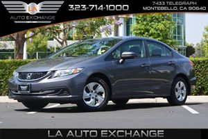 2014 Honda Civic Sedan LX Carfax 1-Owner  Gray 17047 Per Month -ON APPROVED CREDIT--- -