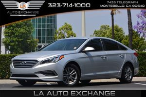 2015 Hyundai Sonata 24L SE Carfax 1-Owner  Symphony Silver  17047 Per Month -ON APPROVED CR