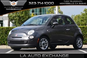 2015 FIAT 500 Pop Carfax 1-Owner  Gray  We are not responsible for typographical errors All p