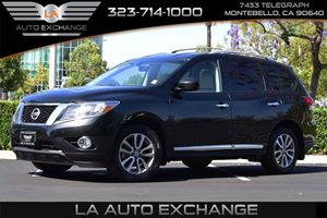 2015 Nissan Pathfinder SL Carfax 1-Owner - No AccidentsDamage Reported  Magnetic Black  We ar