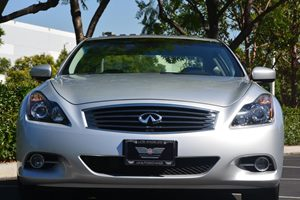 2014 INFINITI Q60 Coupe Journey Carfax 1-Owner  Silver  We are not responsible for typographic