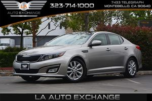 2014 Kia Optima EX Carfax 1-Owner  Bright Silver  We are not responsible for typographical err
