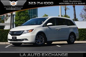 2014 Honda Odyssey EX-L Carfax 1-Owner - No AccidentsDamage Reported  White Diamond Pearl  We